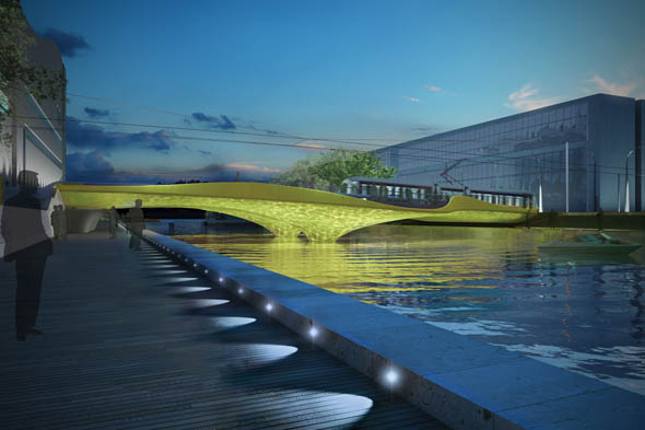 Construction of Luas bridge in IFSC to begin
