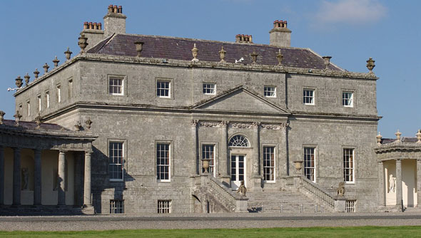 Russborough House on list of endangered heritage sites