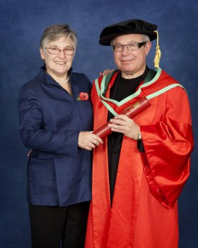 University of Ulster honours Daniel Libeskind