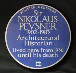 Pevsner and the Nazis, round two