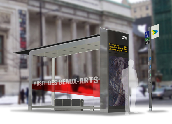 Leblanc + Turcotte + Spooner win Montreal bus shelter design competition