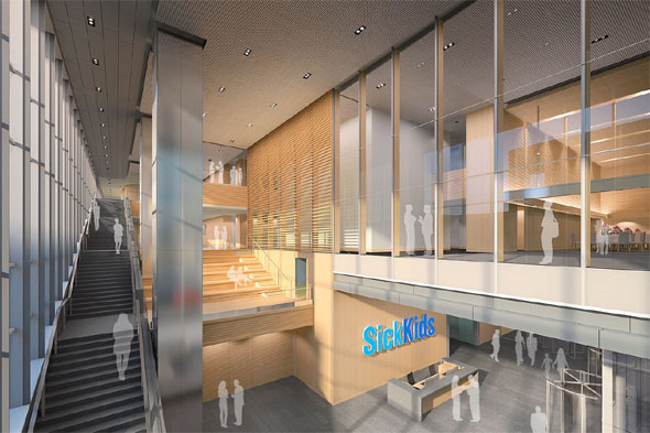SickKids Research Tower by Diamond and Schmitt breaks ground