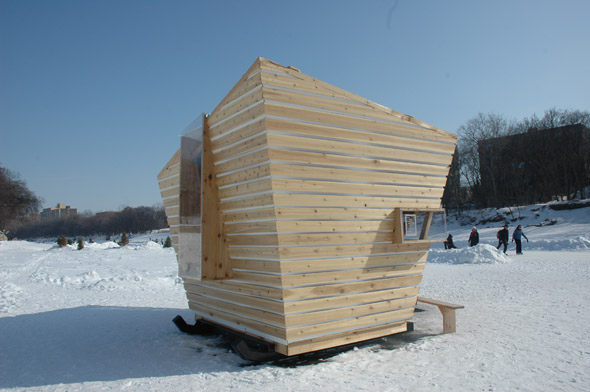 Warming Huts v.2011 &#8211; art and architecture competition