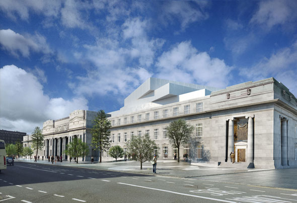 2011 – Design for National Concert Hall, Dublin by Henning Larsen