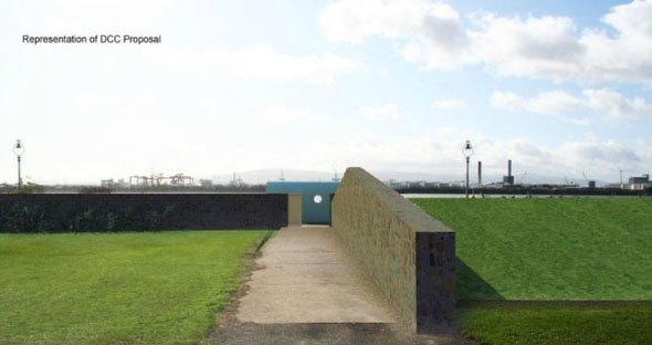 Controversial Clontarf flood defences – images generated by local architects