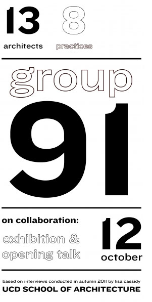Group 91 exhibition at UCD