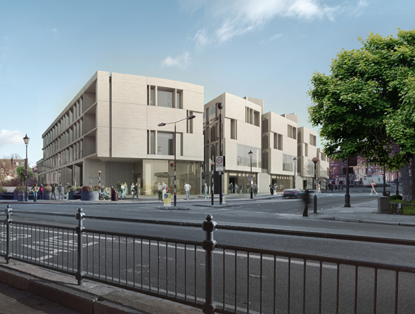 Heneghan Peng submit plans for University of Greenwich buildings