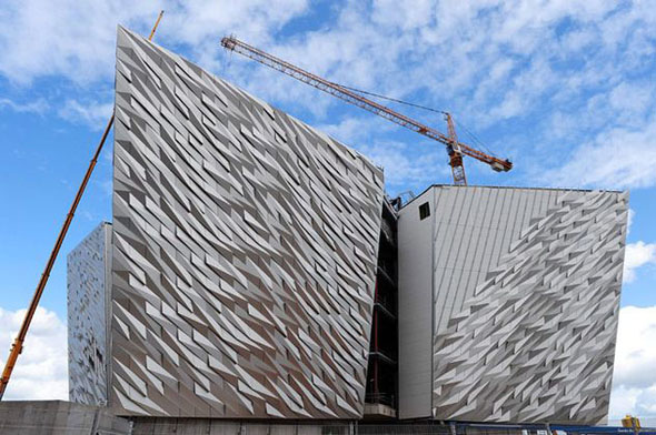 Titanic Belfast building is just a shell, but already it's awesome