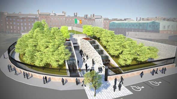 Design for memorial to victims of institutional abuse unveiled