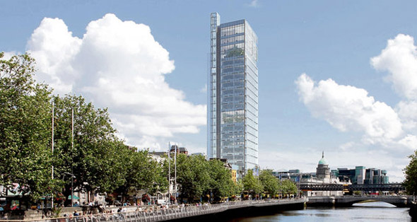 Revised design for Liberty Hall gets permission