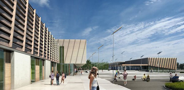Dun Laoghaire County Library and Samuel Beckett Civic Complex get go aheads