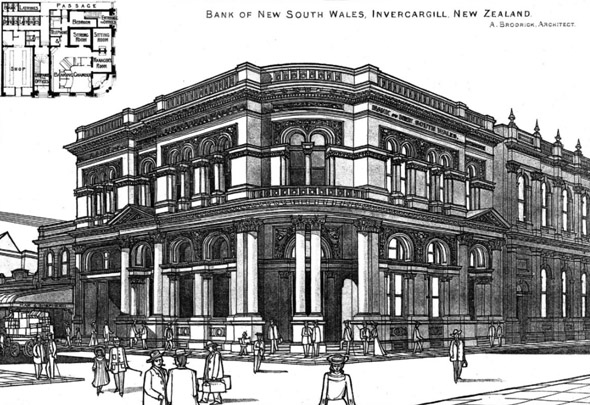 1929 – Bank of New South Wales, Invercargill, New Zealand