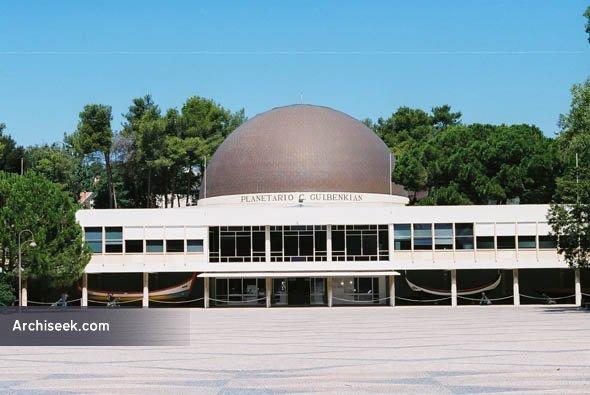 1964 – Calouste Gulbenkian Planetarium, Lisbon