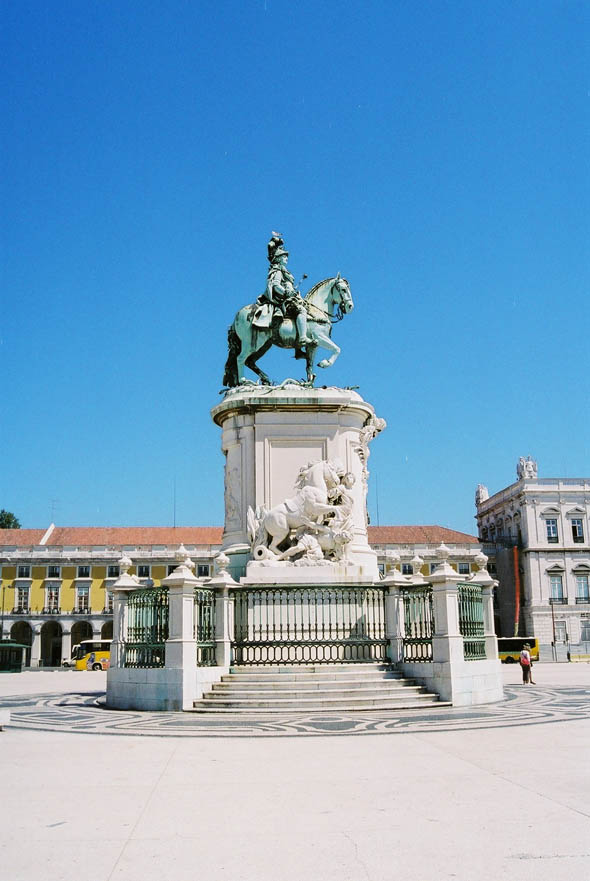 1775 &#8211; King Jos I Monument, Lisbon