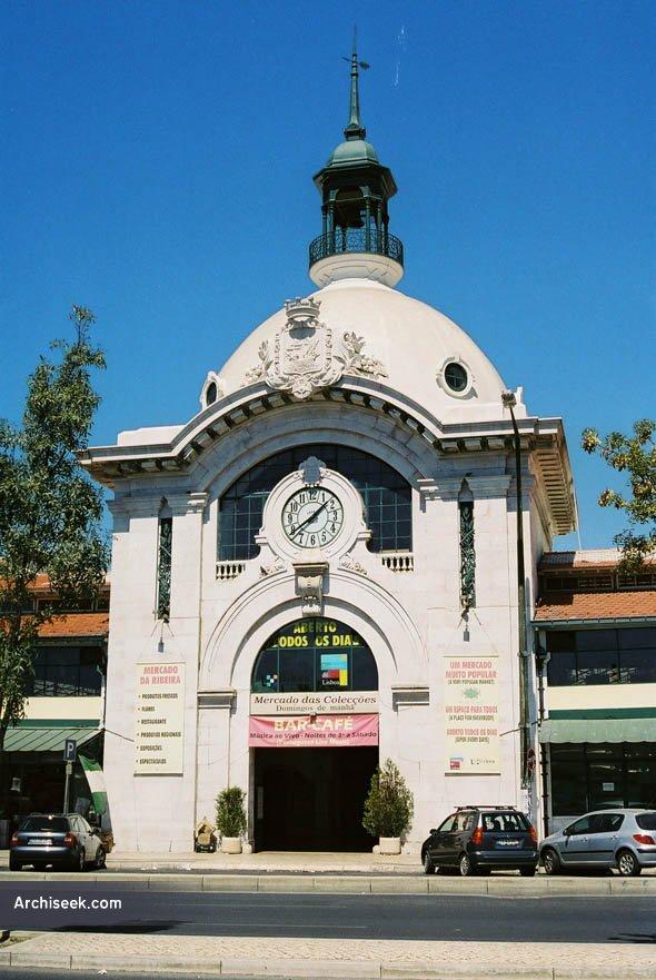 1930 – Mercado da Ribeira, Lisbon