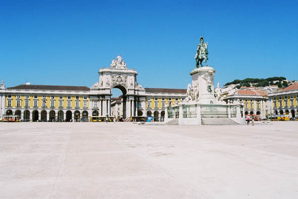 1775 – Praça do Comércio, Lisbon