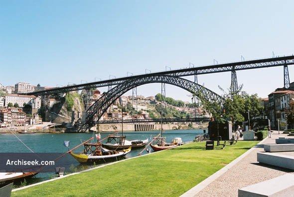 1886 – Ponte Dom Luis I, Porto