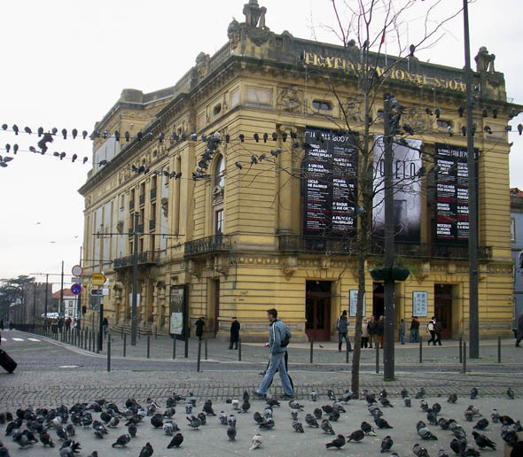 1918 РṢo Jọo National Theatre, Porto
