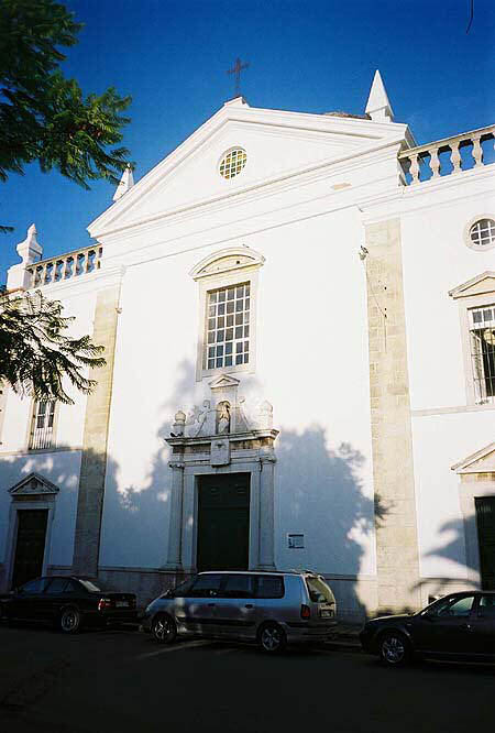 1755 &#8211; Misericordia Church and Hospital, Faro, Portugal
