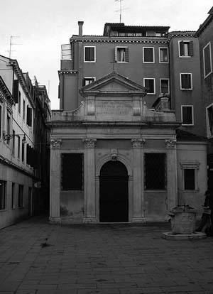 Year: 2010  Title/Caption: 'of de Blacam and Meagher', Irish National Pavilion at the 12th International Architecture Exhibiton (La Biennale), Venice - Oratory of St. Gall at Campo San Gallo, Venice Courtesy: Cian Deegan/Alice Casey