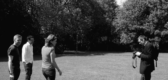 Year: 2010 Title/Caption: 'of de Blacam and Meagher', Irish National Pavilion at the 12th International Architecture Exhibiton (La Biennale), Venice – Curatorial Team - Cian Deegan, Tom dePaor, Alice Casey, Peter Maybury Courtesy: Anna Hofheinz