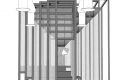 Year: 2010 Title: projection from room B at 4am, Palazzo delle Esposizioni, Venice; dePaor architects at the 12th International Architecture Exhibition (La Biennale) Courtesy: dePaor architects