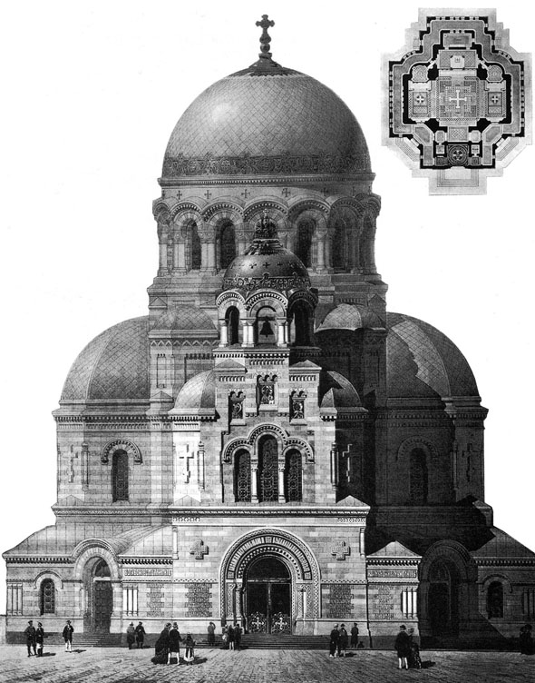 1882 – Design Competition for Church of the Savior on Spilled Blood, St. Petersburg, Russia