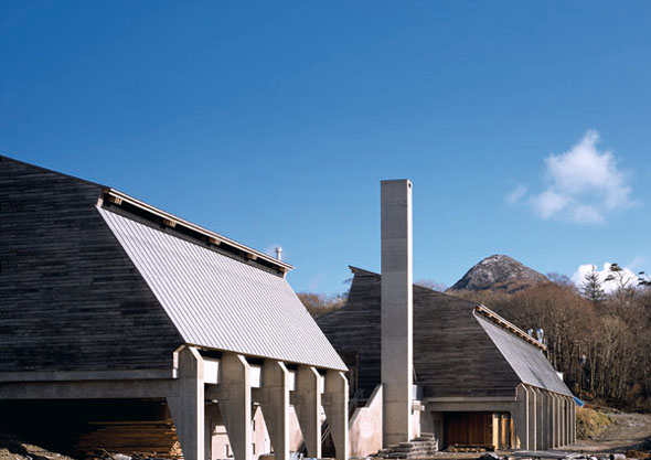O'Donnell + Tuomey: Letterfrack Furniture College, County Galway