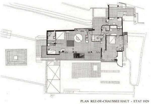 eileen gray e1027 floor plan - photo #15