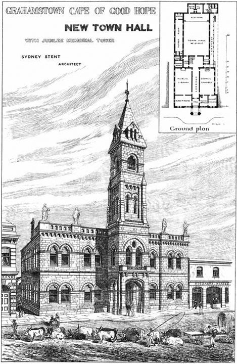 1882 – Cape of Good Hope Town Hall, South Africa