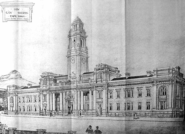 1900 – Law Courts, Cape Town, South Africa
