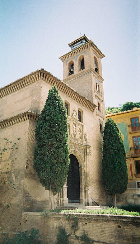 15th C – Iglesia de Sta Ana, Granada, Andalusia, Spain