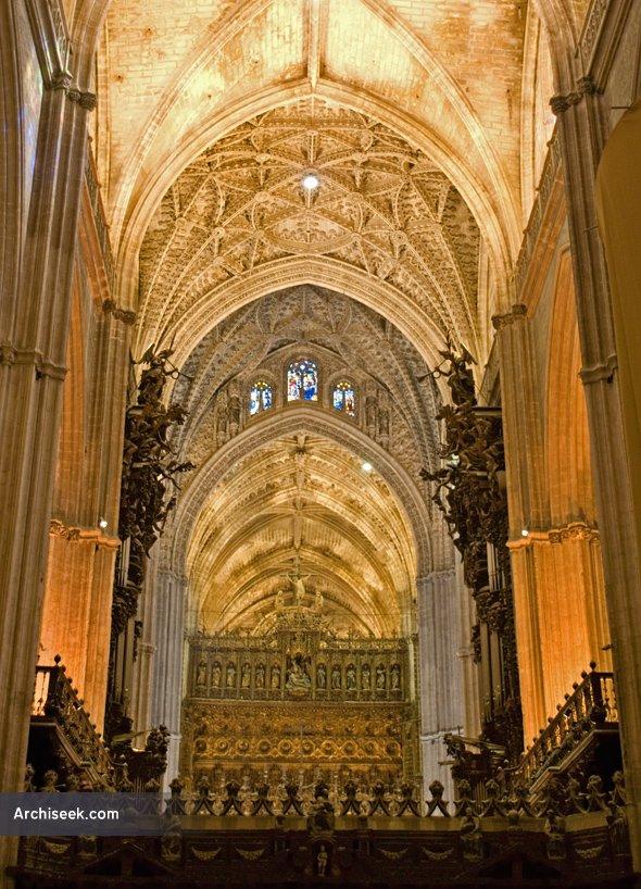 1506 - Seville Cathedral & Giralda, Spain - Architecture ...