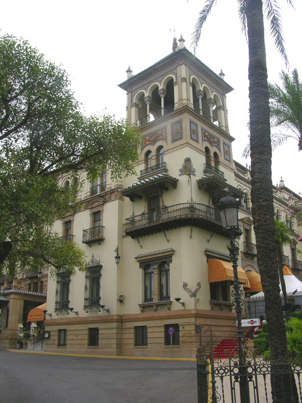 1928 – Hotel Alfonso XIII, Seville, Spain