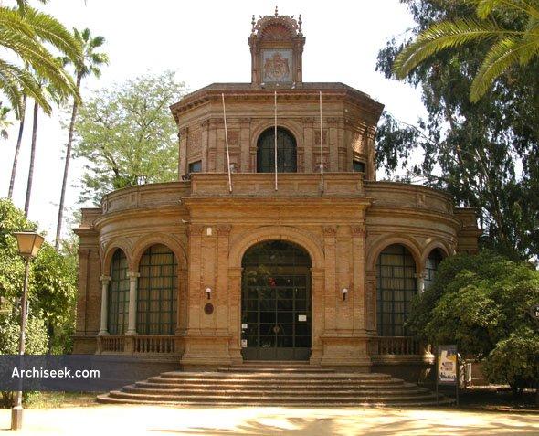 1893 – Pavilion, Maria Luisa Park, Seville, Spain