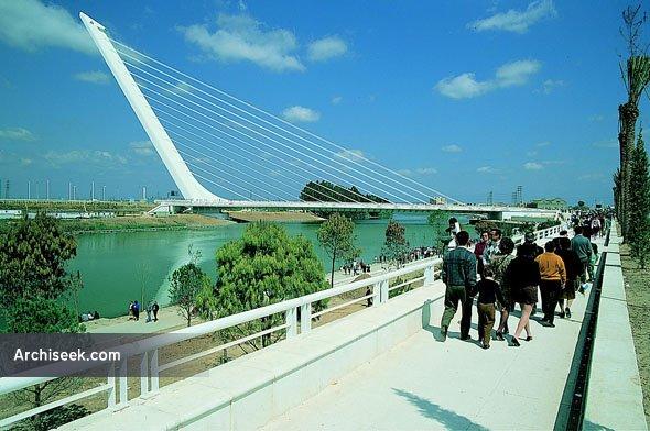 1992 – Puente del Alamillo, Seville, Spain