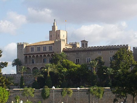 14th C. – Almudaina Palace, Palma, Mallorca, Spain