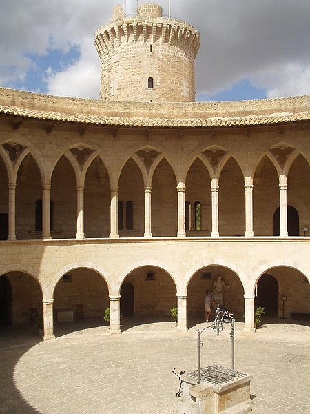 1310 &#8211; Castell De Bellver, Palma, Mallorca, Spain