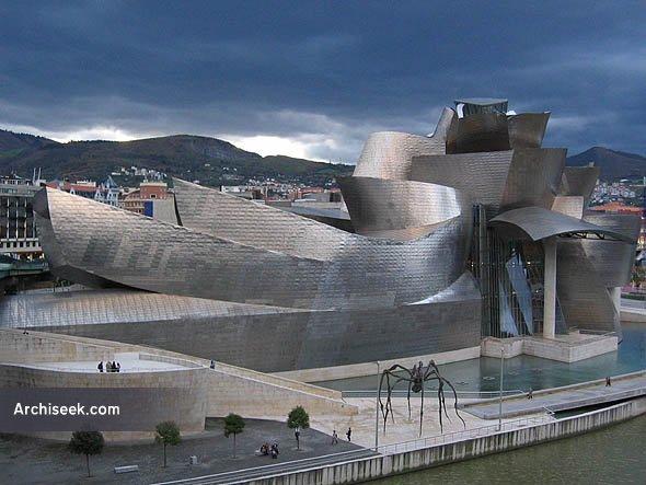 1997 – Museo Guggenheim Bilbao, Bilbao, Spain