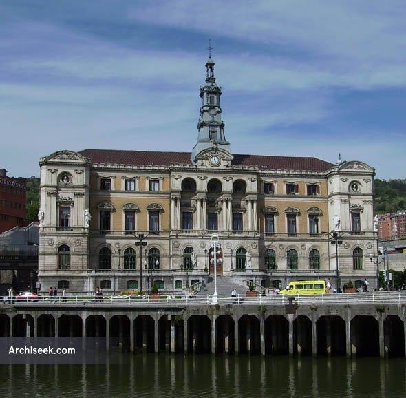 1892 – Ayuntamiento de Bilbao, Bilbao, Spain