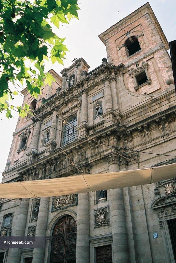 1718 – Iglesia de San Idelfonso, Toledo, Spain