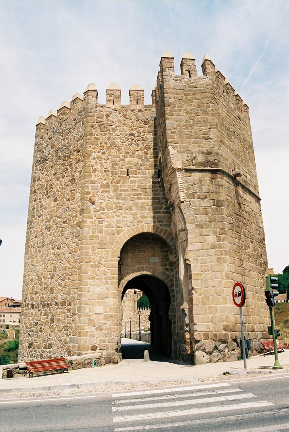 14th C – Puente de San Martin, Toledo, Spain