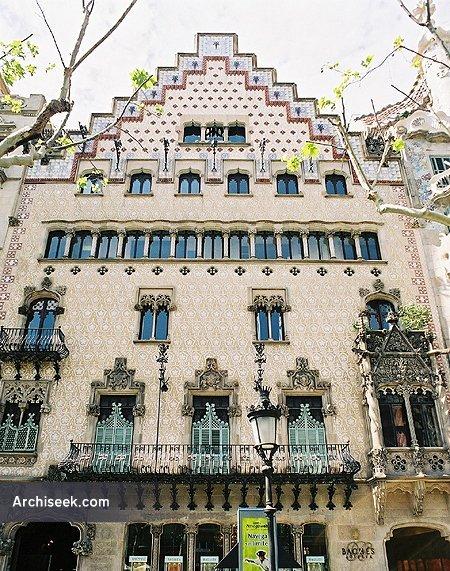 1900 – Casa Amatller, Barcelona