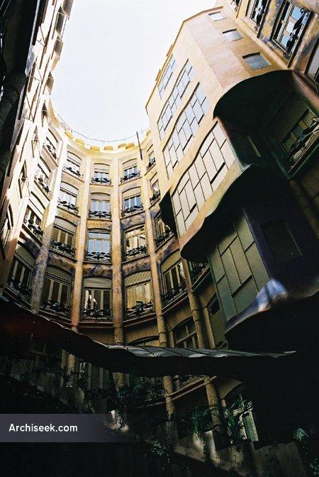 casa mila courtyard lgeCasa Mila Courtyard