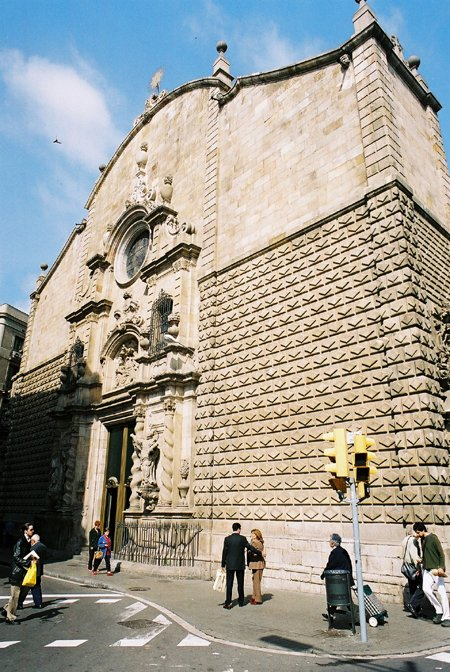 1732 &#8211; Esglsia de Betlem, Barcelona