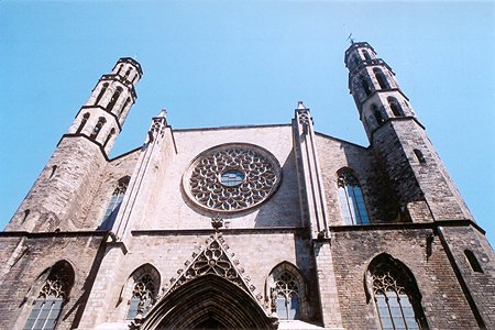 1383 &#8211; Esglsia de Santa Maria del Mar, Barcelona