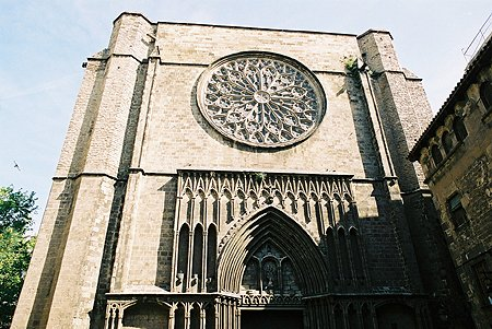 Esglsia de Santa Maria del Pi, Barcelona
