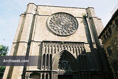 14th C – Església de Santa Maria del Pi, Barcelona