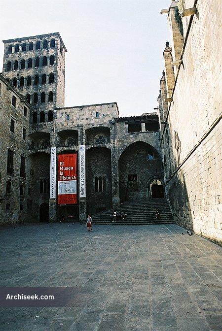 14th C. – Plaça del Rei, Barcelona