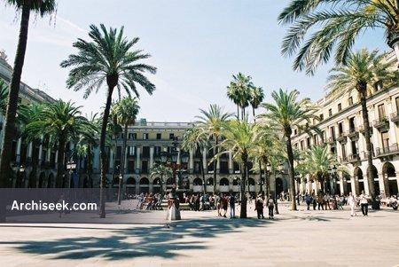 1859 – Plaça de Reial, Barcelona